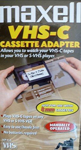 Maxell Mechanical VHS-C Adapter
