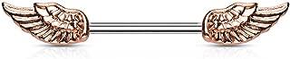 Blue Palm Jewelry Pair of 14GA (1.6mm) 9/16