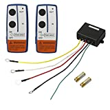 AUTOUTLET 2PCS Recovery Wireless Winch Remote...