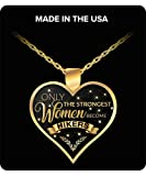 HollyWood & Twine Hiker Necklace for Women Gifts for Beginning Hikers Only The Strongest Women Become Hikers Necklace