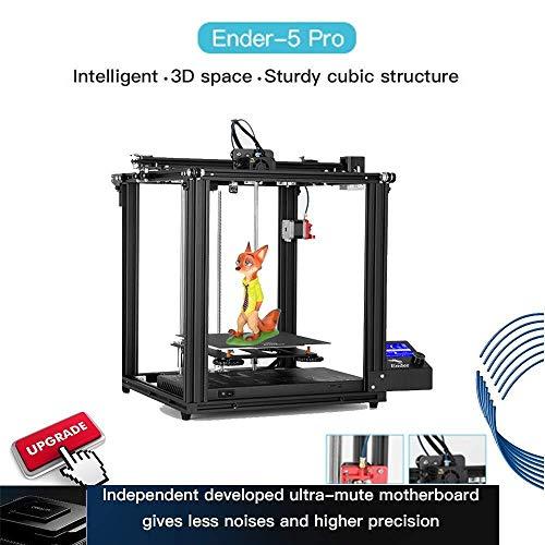 Non Branded Ender 5Pro imprimante 3D V1.15 améliorer l'utilisation de la Carte mère Silencieux avec Structure métallique extrudeuse C a p r i o r c n B o d e n w PTFE ZXLLNEUR