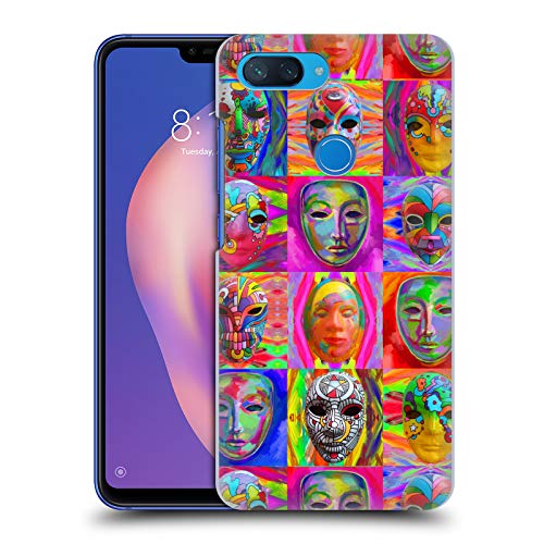 Officiële Howie Green Pop Art Maskers Carnaval Hard Back Case Compatibel voor Xiaomi Mi 8 Lite/Mi 8X