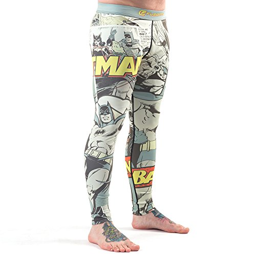 Batman mannen Fusion Fight Gear Pop Art Compressie Broek