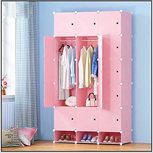 FTFTO Haushaltsprodukte Tragbare Kleiderschrank Aufbewahrungsschrank Kommoden für Schlafzimmer Tragbare Kleiderschränke Kleiderschrank Schlafzimmer Schrank Kommode Würfel Aufbewahrungsorganisator