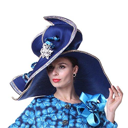Kueeni Women Hat Church Hats for Wedding Tea Party Formal Hats 1e3ad3829