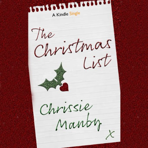 The Christmas List audiobook cover art