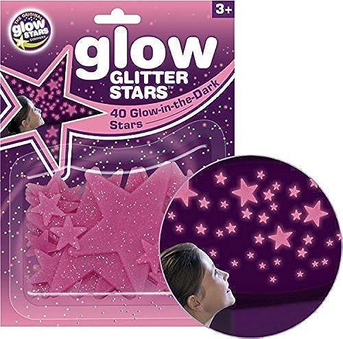 Brainstorm Glowstars Kinderzimmer Kinder Wand Dunkel Leuchtende Glitzer Sterne Aufkleber Packung Von 12