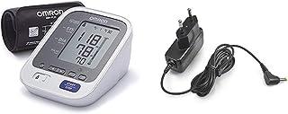 OMRON M6 Comfort - Medidor de presión de confort, brazalete de ajuste Intelli Wrap Cuff para medición precisa en cualquier punto del brazo, memoria de hasta 200 mediciones + Adaptador Corriente