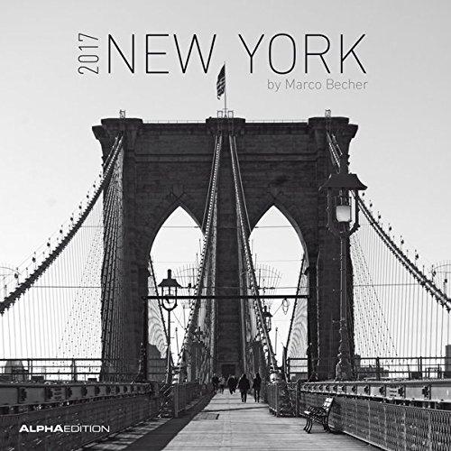 Calendario da muro 30x30cm New York 2017