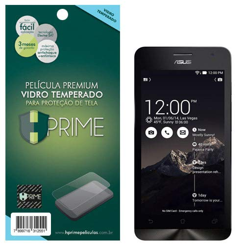 Pelicula de Vidro temperado 9h HPrime para Asus ZenFone 5 (modelo antigo), Hprime, Película Protetora de Tela para Celular, Transparente