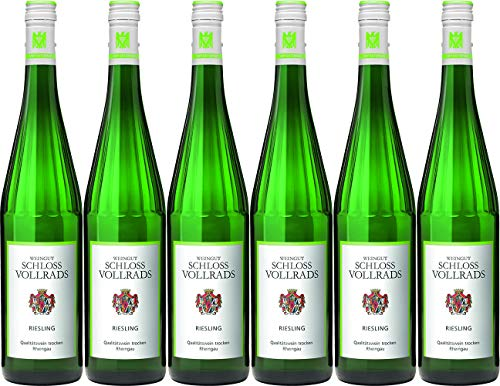 Schloss Vollrads Riesling Qualitätswein 2019 Trocken (6 x 0.75 l)