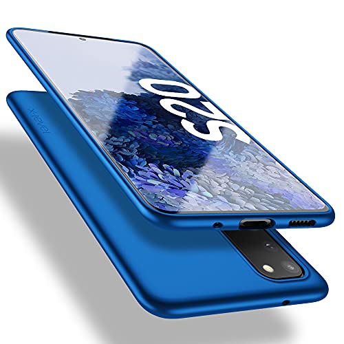 X-level Samsung Galaxy S20 Hülle, [Guardian Serie] Soft Flex TPU Hülle Superdünn Handyhülle Silikon Bumper Cover Schutz Tasche Schale Schutzhülle für Samsung Galaxy S20 5G - Blau
