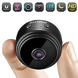 Mini cámara espía, cámara Oculta de WiFi Ansteker HD 1080P inalámbrica con...