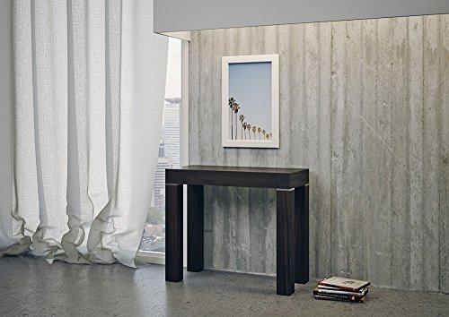 Group Console Design Imperial Extensible Chêne Moro en Bois pour entrée LA-CO/028-rm