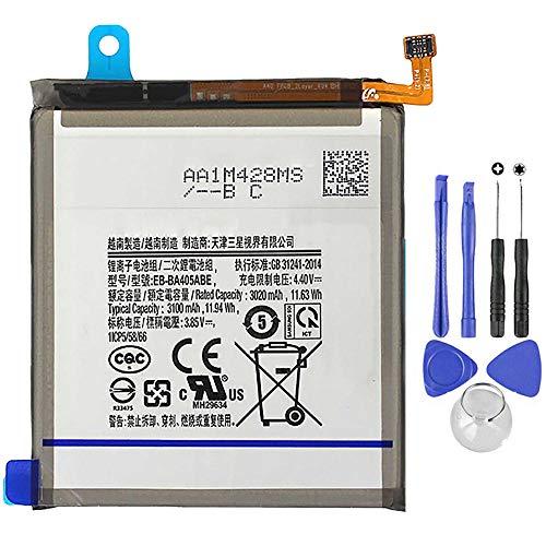Ellenne Batteria Compatibile con Samsung A40 A405 EB-BA405ABE Alta capacità 3100MAH con Kit SMONTAGGIO Incluso
