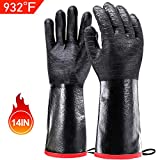 Best Gloves For Grilling - Schwer BBQ Grill Gloves 932℉ Waterproof Grilling Gloves Review