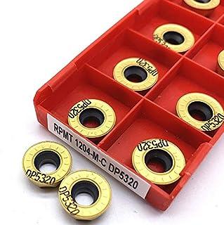 NO LOGO 10pcs DCMT11T304 VP15TF carbure Inserts Lames Durable Tournage CNC Lathe Outil dinsertion Set 20x6x4mm