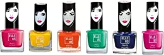 Elle 18 6 Nail Pops Red, Yellow, Orange, Green, Blue, Pink Red, Yellow, Orange, Green, Blue, Pink (Pack of 6)