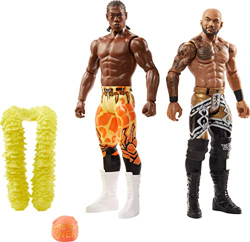 WWE Ricochet vs Velveteen Dream Battle Pack Series #65 with Two 6-inch Articulated Action Figures & Ring Gear