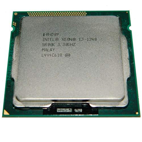 Intel Prozessor CPU Xeon E3-1240 3.30ghz Sr00k Lga1155 Quad Core 8mo