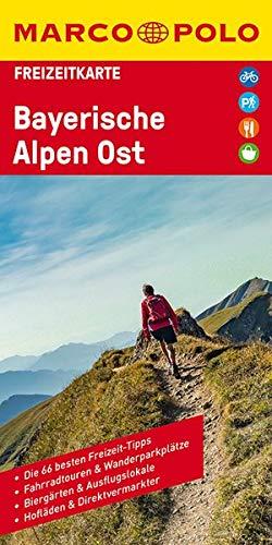 Marco Polo FZK46 Bayerische Alpen Ost: freizeitkarte