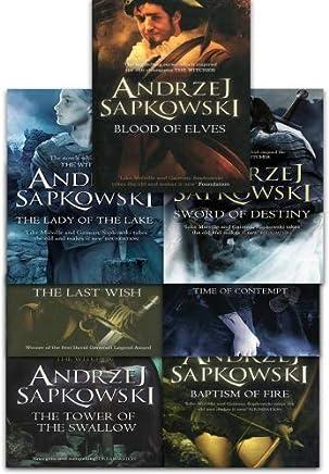 The witcher books amazon co uk