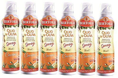 Bertolli Cucina Olivenöl Spray 6 x 200ml
