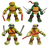JXMODEL Figure De Modèle De Tortues Ninja Adolescentes Modèle Collection Maison De TMNT Figure-12cm A