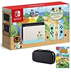 Nintendo Switch Bundle w/Game & Case: Nintendo Switch Animal Crossing New Horizons Edition 32GB Console, Animal Crossing New Horizons Game, Tigology Accessories