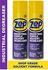 Industrial Aerosol Degreaser Dissolves heavy grease, oil & tar Removes Adhesives, Paint Lifts deep oil stains from concreted and asphalt For use on metal surfaces, tools, concrete floors, industrial equipment, machinery, auto parts, lawn tools, hand ...