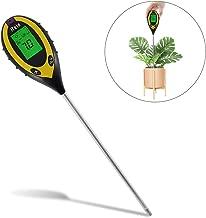 Anzeige der Intensit/ät der Sonne pr/äzises Gartenwerkzeug Luftfeuchter TACKLIFE 3 in 1 Boden-Tester MST01 Bodenaufbereiter PH-Tester f/ür Pflanzen