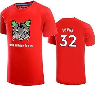 Karl-Anthony Towns 32 Timberwolves - Camiseta de Baloncesto, Regalo para la Familia