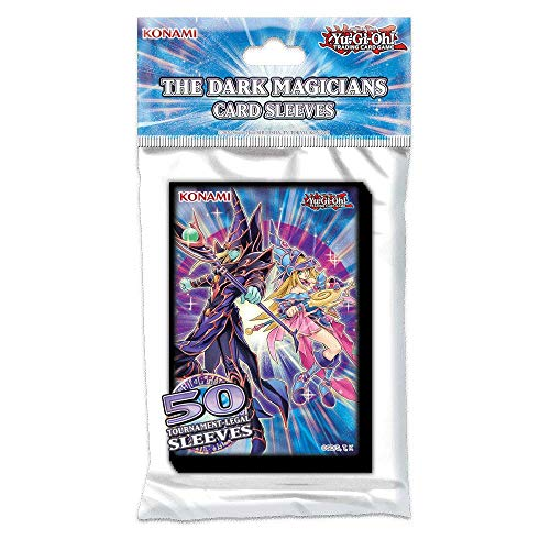 YuGiOh The Dark Magicians Sleeves 50ct Small Sized