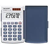 SHARP Calculatrice SHARP EL-243 S, Fonctionnement Solaire/Batterie