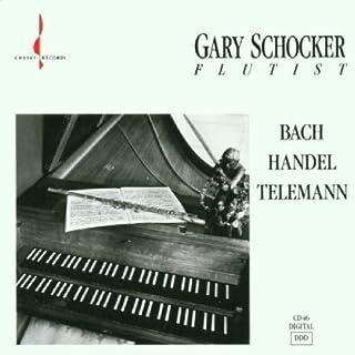 Bach, Handel, Telemann by Gary Schocker (1991-05-03)