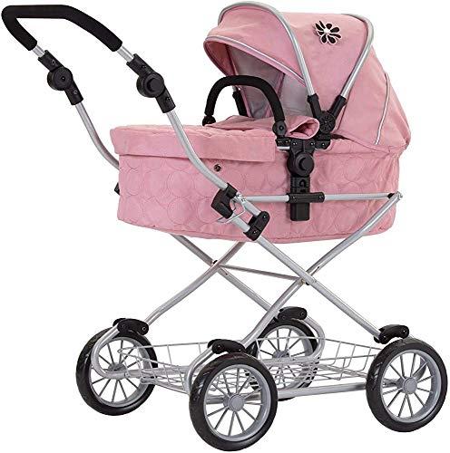 Agarre suave, ajustable mango margarita viajes muñeca cadena cochecito, cochecito Mini,Pink