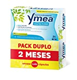 Ymea Vientre Plano Pack| Tratamiento de la Menopausia | Control de Sofocos y Alivia el Hinchazón abdominal| Sin Estrogenos, Soja o Consevantes| 128 Capsulas | Tratamiento 2 meses