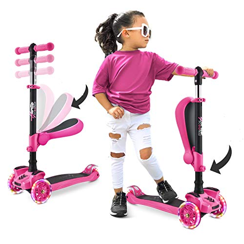 Hurtle 3-Wheeled Scooter for Kids