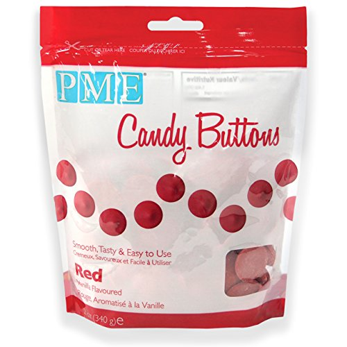 PME Candy-Buttons, Rot, 340 g