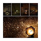 B/A Galaxy Projector Star Projector Night Lights LED Nebula Cloud Celestial Star Cosmos Night Lamp Ambiance Sky Holidays Decoration Present for 1-18 Year Old Girl and Boy,Sanycool