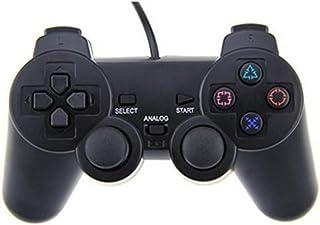 Sw.eet ゲームパッド PS2 シングル振動ハンドル PS2 有線ゲームコントローラー PS2 ゲームコントローラー - 2860 ゲームパッド