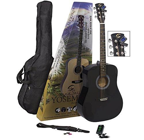 Soundsation Yosemite GP-BK Pack de Guitarra Acústica