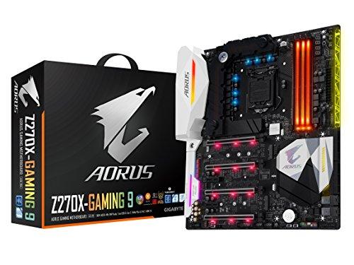 GIGABYTE AORUS GA-Z270X-Gaming 9 Gaming Motherboard LGA1151 Intel Z270...