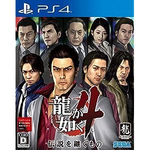 """龍が如く4 伝説を継ぐもの - PS4"""""""