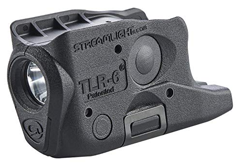 Streamlight 69282 TLR-6 Tactical Pistol Mount Flashlight 100 Lumen Without Laser Designed Exclusively and Solely for Glock 26/27/33, Black