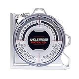 Release Rilevatore di Angolo Magnetico Goniometro Pendenza Inclinometro Misuratore di Livello Clinometro Rilevamento Strumento di misurazione Portatile Localizzatore di pendenze