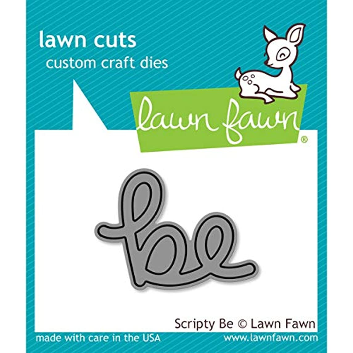 Lawn Fawn Lawn Cuts Craft Die - LF1266 Scripty Be