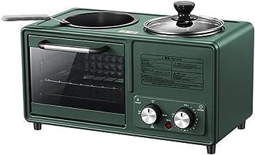 4 in 1 ménage machine de petit-déjeuner électrique machine poêle à fourrure mini four à pain pizza maker chaude paille-vap...