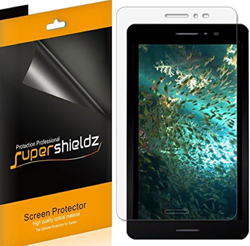 (3 Pack) Supershieldz Designed for AT&T Trek 2 HD Screen Protector, High Definition Clear Shield (PET)