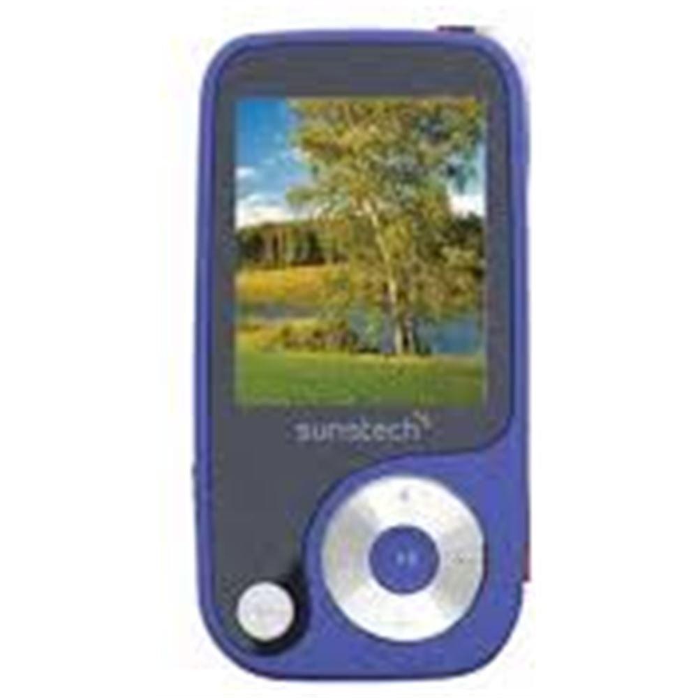 Sunstech Thorn - Reproductor de MP3 (4 GB de capacidad) color azul ...